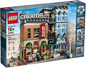 Lego Creator Expert Detective's Office Modular Building 10246 (2015) Pre-Owned