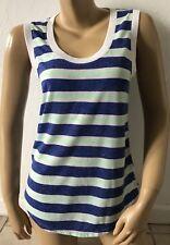 VICTORIAS SECRETS Womens Size XS Striped Sleeveless Tank Top Sleepwear Pajama
