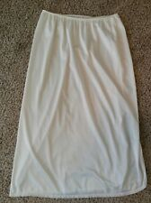 Bali Womens White Half Slip Size Medium- Lot M73