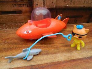 Octonauts Gup B Playset with Kwazii Figure and Accessories