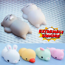 Animal Squishy Squeeze Healing Mochi Fun Kids Kawaii Toy Stress Reliever Decor