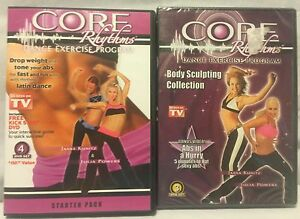 NW Core Rhythms Dance Exercise Program Starter Package Body Sculpting Collection