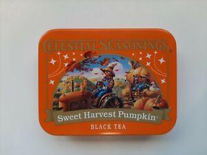 CELESTIAL SEASONINGS Miniature Tea Tin--Sweet Harvest Pumpkin