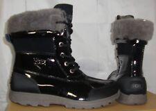 UGG Australia Butte II Patent Kids Black Boots Youth Size 4 , Women's Size US 6