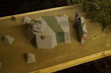 HP-Models Deutsches Bunker -Diorama- aus Keramik und Resin  1:35