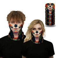 3D Tube Magic Bandana Scarfs Balaclava Face Mask Warmer Motorcycle Clown Mask