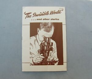 The Invisible World & Other Stories General Electric Booklet Vintage Inventors