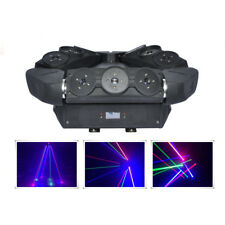 9 Eye RGB Moving Spider Beam Laser Light DMX DJ Party Profession Stage Lighting
