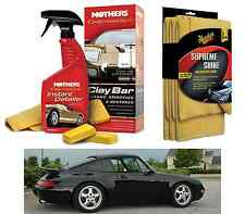 MOTHERS California Gold Clay Bar System + (3) Supreme Shine Microfiber Towels