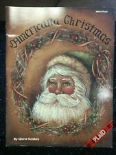 New ListingTole Painting Gloria Koskey American Christmas Decorative Instructions (Oop)