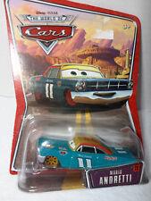 "Disney Pixar Cars ""Mario Andretti"" NRFP"
