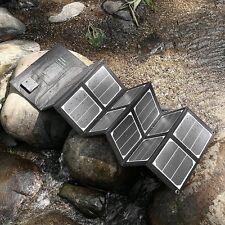 Poweradd 40W Solar Panel Portable Foldable Sunpower Solar Charger
