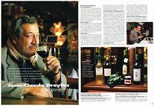 PUBLICITE ADVERTISING  2003   JEAN- CLAUDE DREYFUS   coté cave (3 pages)
