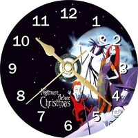 Nightmare Before Christmas 2 Cd Clock Can personalise