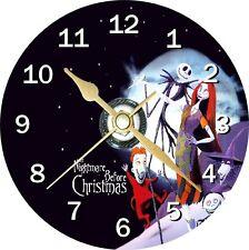 Nightmare before christmas 2 cd horloge peut personnaliser