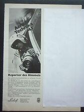 6/1975 PUB LINHOF PRAZISIONS KAMERA PHOTO AERIENNE LUFTBILD GERMAN ADVERT