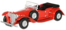 Oxford 76ALV002 Alvis Speed 20 Regency Red 1/76 Scale = 00 Gauge in Case - T48Po