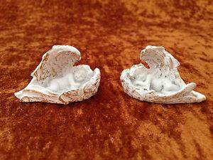 2 Stück Schutzengel in Geschenktütchen Glücksbringer Engel