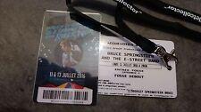 Billet Ticket Bruce Springsteen... au nom de Bruce SPRINGSTEEN ! ! !  COLLECTOR