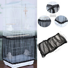 Popetpop Food Catcher Guard Bird Parrot Cage Tidy Cover Bird Cage Skirt