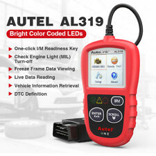 Autel AutoLink AL319 OBDII EOBD OBD2 Fault Code Reader Color Screen Free Update