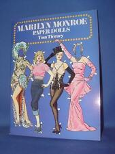 Marilyn Monroe Paper Dolls by Tom Tierney (1985, Paperback)