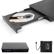 New External USB 2.0 Slim CD RW DVD ROM CD Rewriter DVD Drive For All Laptop, PC