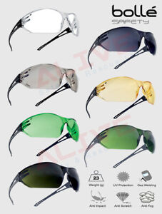 Bolle SLAM Safety Glasses Spectacles Anti-fog Anti-scratch Lens All-round vision