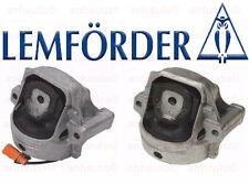 Lemforder Set of 2 Audi A4  A5   Left + Right Motor Mount's 4-Cylinder New
