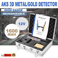 12V AKS 3D Détecteur de métaux Detector Métal Diamond Gold 2000mah NEWEST