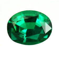 Certified 1.25ct Zambia Natural Emerald Oval ~6.4 x 5mm Loose Gemstone 300_VIDEO