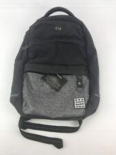 Solo Backpack Black Denim Bag 17'' Padded Laptop Area And Straps NWOT