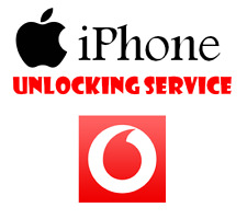 Unlock Service For Apple iPhone 4 4S 5 5S 5C SE 6 6+ 6S 6S+ 7 7+ 8 Vodafone UK