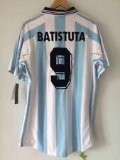 ARGENTINA HOME SHIRT WORLD CUP 1998 , BATISTUTA, REDONDO, VERON, CRESPO S M L XL