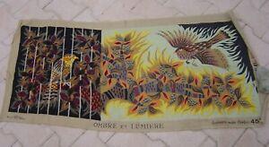 """Royal Paris  tapisserie/canevas""""ombre et lumiere"""" Grand format à finir"""