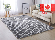 Super Soft Indoor Modern Shag Area Silky Smooth Rugs Fluffy Anti-Skid Shaggy ...