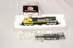 CH Atlas  #8604 C30-7 Locomotive Santa Fe #8076