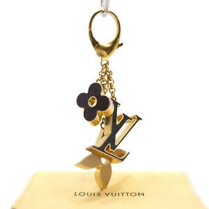 Authentic LOUIS VUITTON Bijou De Sac Fleur De Monogram Bag Charm M67119 #S303036