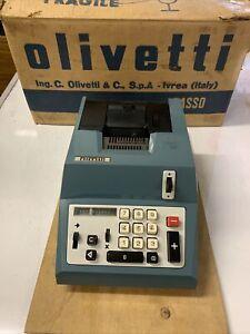 VINTAGE RETRO OLIVETTI IVREA SUMMA QUANTRA 20R NEW OLD STOCK CALCULATOR ITALY