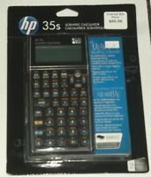 HP 35s ULTIMATE PROGRAMMABLE SCIENTIFIC CALCULATOR 2 DISPLAY LINES 42 BUILT IN