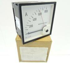 Drehspulinstrument DEIF GQ96 Delomatic Amperemeter Strommeßer DQ96 0-800A 916301