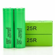 2x Samsung 25R 2500mAh 20A INR 18650 | Authentic Original Rechargeable Battery
