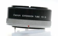 CANON CAMERA LENS EXTENSION TUBE FD 25 FOR MACRO CLOSE UP PHOTOGRAPHY EXCELLENT
