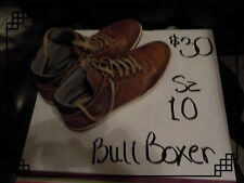 Mens Leather BULL BOXER SNEAKER BOOTS SZ10 LAYTONE Casual Shoe PORTUGAL PREOWNED