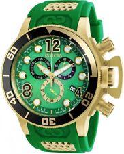 wachawant: Invicta 90230 Corduba 52MM Green Dial Silicone Band Swiss Men's Watch