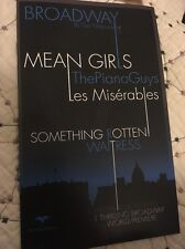 Mean Girls Pre Broadway Musical Ad Booklet - Tina Fey, National Theatre Rare