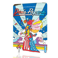 WALL SIGN Peter Max Dans Papers Great Poster Psychedelic Wall Art Decor Rusted
