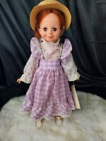 Ideal Crissy doll Country Fashion red growing hair complete outfit hair wrapped