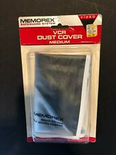 Memorex fits Vcr or Beta Dust Cover, New-Old Stock Sealed in original package