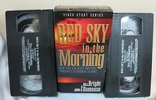 RED SKY IN THE MORNING VHS BOX SET BILL BRIGHT 2 CASSETTES 6 PARTS FAST SHIPPER
